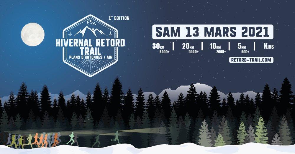 Hivernal Retord Trail aux Plans d'Hotonnes
