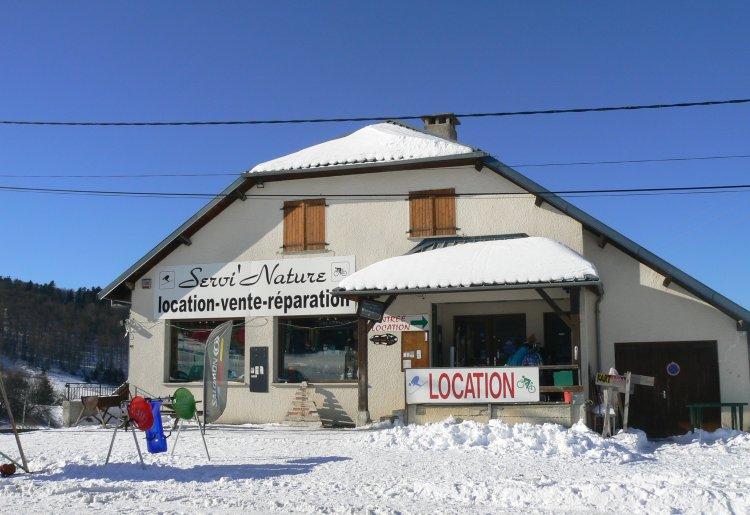 Servi' Nature location de matériel été / hiver