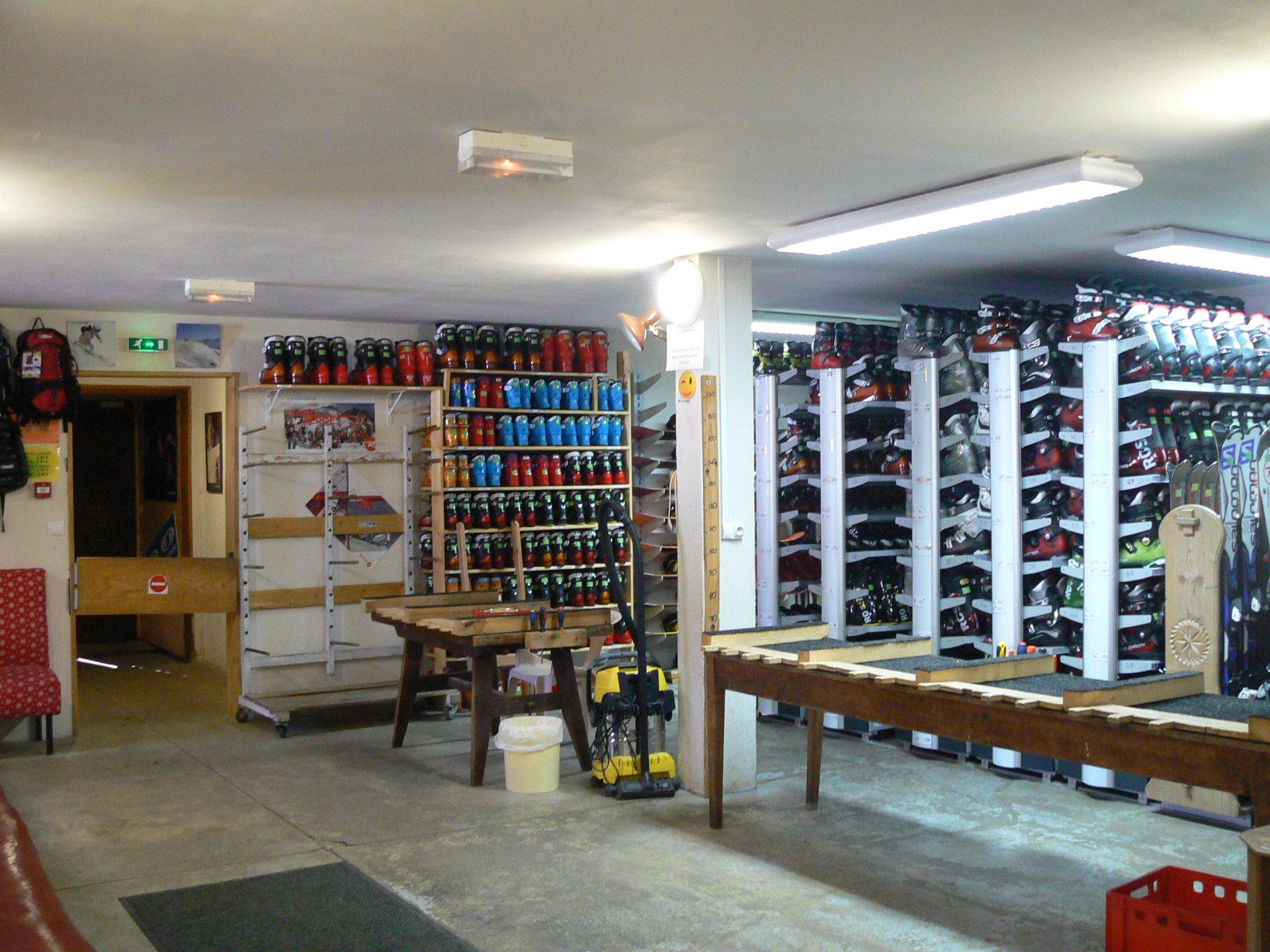 Location de matériel de skis Berthet Sport