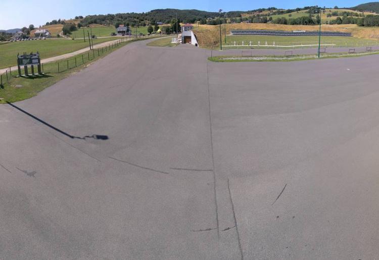 Webcam du stade de biathlon (Plans d'Hotonnes)