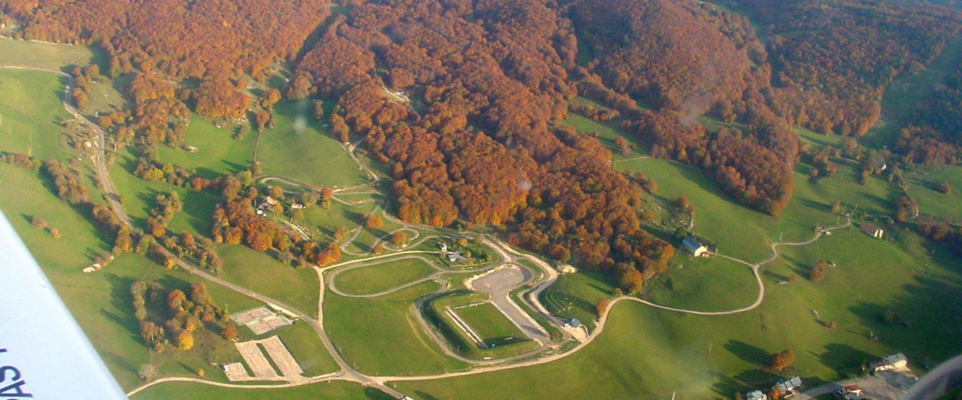 Stade de biathlon des Plans d'Hotonnes