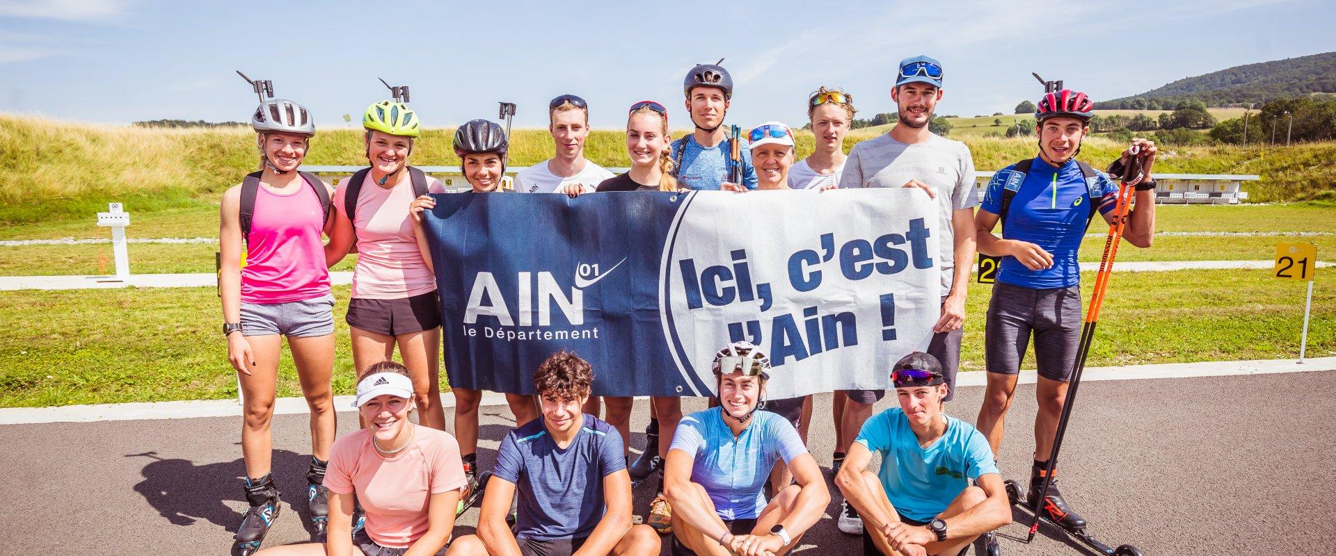 Les athlètes du Comité du Lyonnais Pays de l'Ain